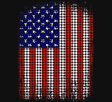 Vintage US Halftone Flag Tank Top