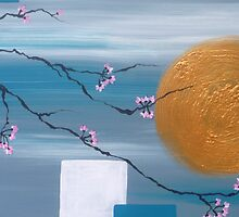 Cherry Blossom Moon by Michelle Potter