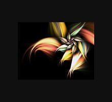 Golden Flower - Abstract Fractal Artwork Womens Fitted T-Shirt