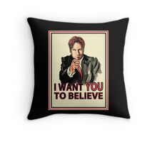 Uncle Mulder Throw Pillow