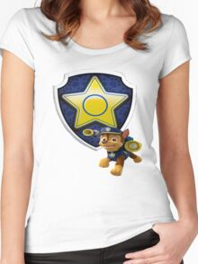Chase's Badge Women's Fitted Scoop T-Shirt
