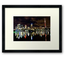 Reflections on the Viaduct  Framed Print