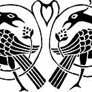 Peacocks by Apotypomata