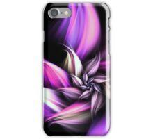 Purple Flower - Abstract Fractal Artwork iPhone Case/Skin
