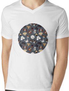 Canine Collective Mens V-Neck T-Shirt