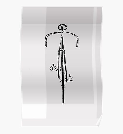 Fixed Gear Track BIke Poster