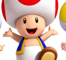 Toad Sticker