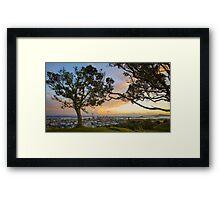 Mt Eden Sunrise Framed Print