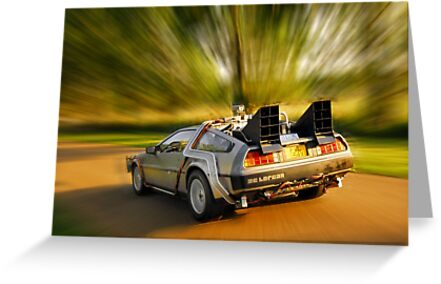DELOREAN.... Back to the Future. by Billlee