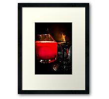 Late Night Ale Framed Print