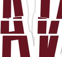 go, fight, win, cleveland cavaliers Sticker