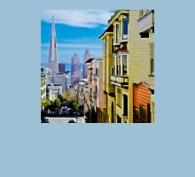 PAINTED LADIES LOOKING DOWN ON YOUNG STUDS Unisex T-Shirt