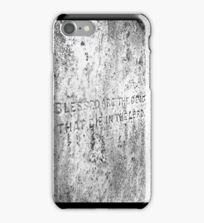 Blessed Are the Dead That Die in the Lord iPhone Case/Skin