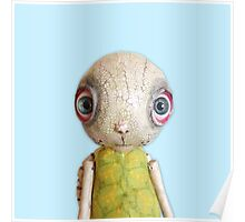 Sheldon The TUrtle - Baby Blue Poster