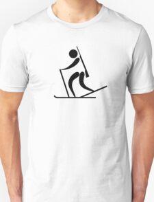 Biathlon Pictogram  Unisex T-Shirt