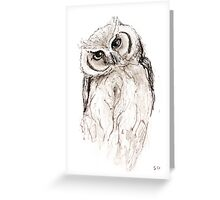 Australian Owl Greeting Card