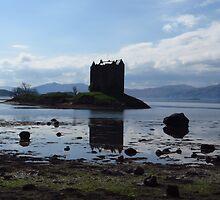 Castle Stalker, Argyll, Scotland by wiggyofipswich