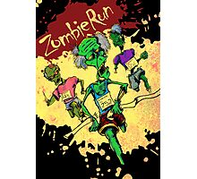 Zombie Run Photographic Print