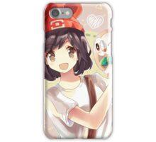 Pokemon Moon/Sun - Rowlet iPhone Case/Skin