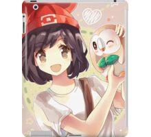 Pokemon Moon/Sun - Rowlet iPad Case/Skin