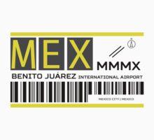 Destination Mexico City Airport Kids Tee