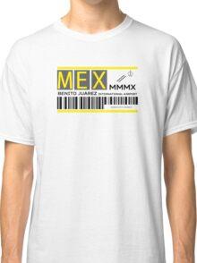 Destination Mexico City Airport Classic T-Shirt
