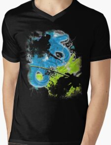 Dragons Mens V-Neck T-Shirt