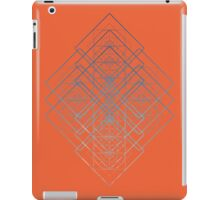 GEOMETRICAL SHAPES PATTERN TRIANGLES CIRCLES SQUARES iPad Case/Skin