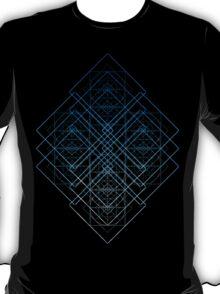GEOMETRICAL SHAPES PATTERN TRIANGLES CIRCLES SQUARES T-Shirt