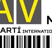 Destination Havanna Airport Sticker