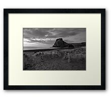 Path to Piha Framed Print