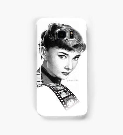 Hollywood stars: Audrey Hepburn Samsung Galaxy Case/Skin