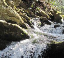 Slanted Waterfall Sticker