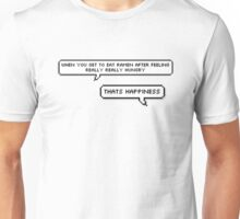 "BTS - Rap Monster ""When you get to eat ramen after feeling really, really hungry..."" Unisex T-Shirt"