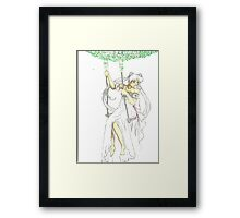 Serenity Swing Framed Print