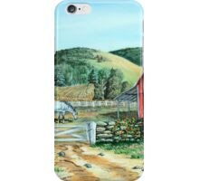 Spring Landscape (on craft foam) iPhone Case/Skin