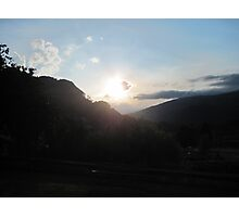 Valley Sunset Photographic Print