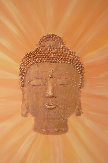 Buddha Rays by Michelle Potter