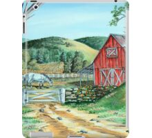 Spring Landscape (on craft foam) iPad Case/Skin
