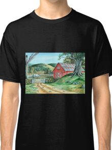 Spring Landscape (on craft foam) Classic T-Shirt