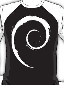 Debian White T-Shirt