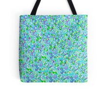 Blue Flowers - Patchwork Tote Bag