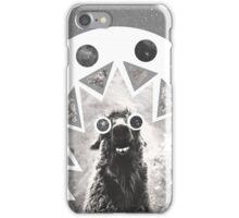 Trippy Smiling Llama iPhone Case/Skin
