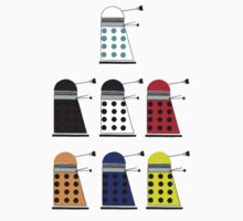 The Daleks by thedaintydalek