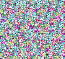 Random VSwirls - Patchwork by Sammy Nuttall