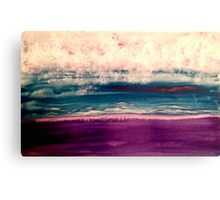 ice wind Canvas Print