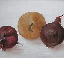 Onion Sketch by Alexandra Lavizzari