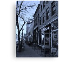 DENVER STREET Canvas Print
