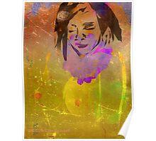 Golden Princess Nude-Design & Illustration Drawing Poster