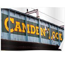 Camden Lock Poster